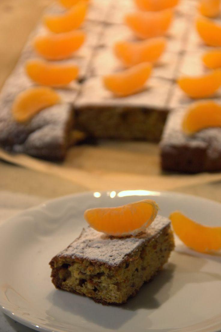 Madarynkowe ciasto bez mąki i cukru