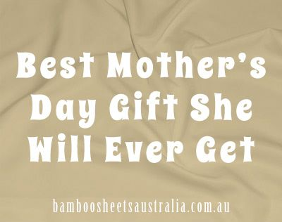 #mothersday Best Mother's Day Gift She Will Ever Get. Ever....http://bamboosheetsaustralia.com.au/shop/