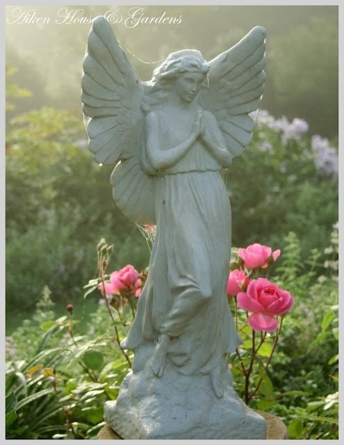 garden angel. Dont turn around and whatever you do, dont blink! More