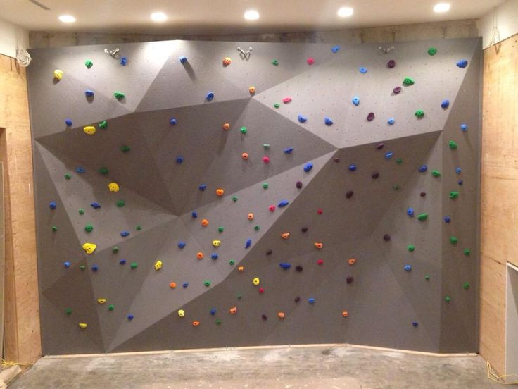 Luxury Home Climbing Gym
