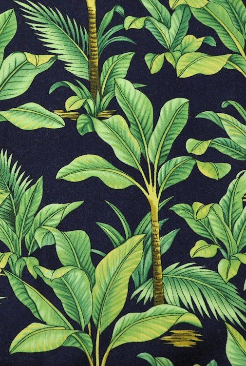 thevuas:  Hawaiian Tropical Beach Pattern Print Fun Craft Fabric [source]