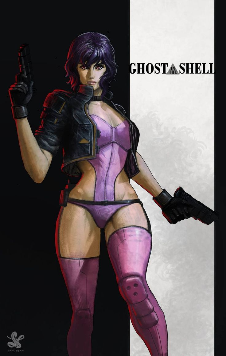 Ghost in pic porn shell the
