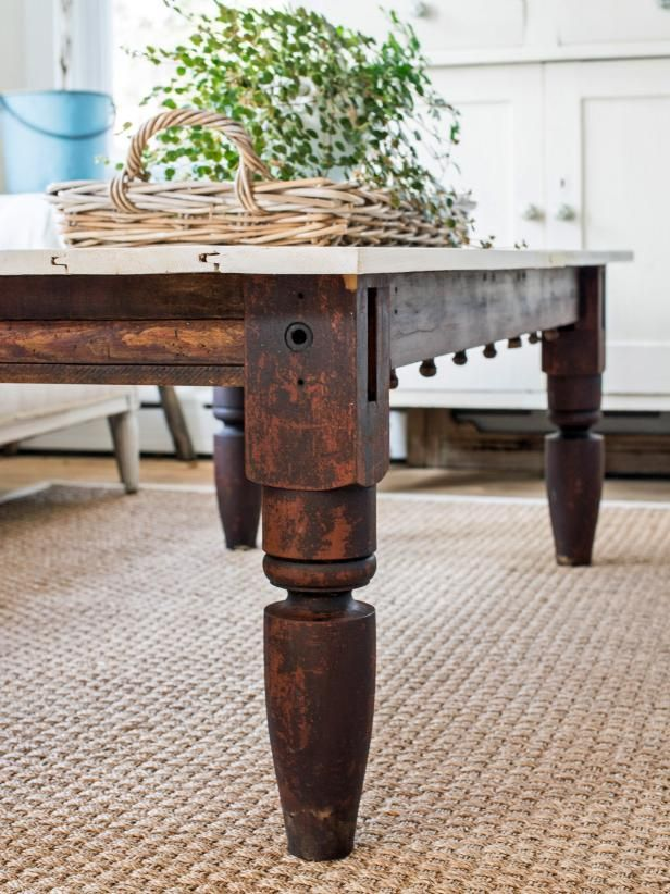 How To Make An Upcycled Coffee Table To Be Repurposed And Living Room Coffee Tables
