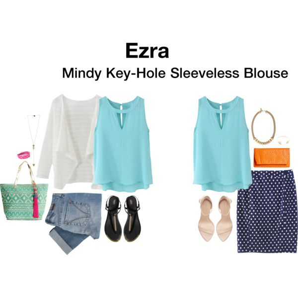 STITCH FIX! I love the outfit on the left, the thin layers, the blues. Work or casual wear for me!