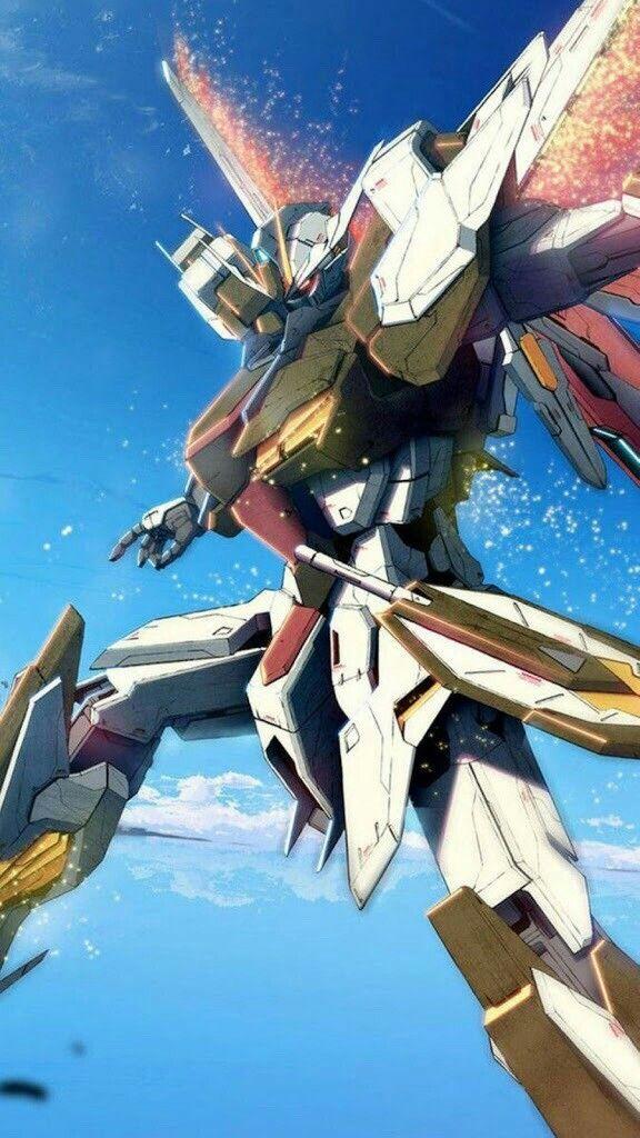 Pin oleh nic di Gundam Picture / Chibi Seni anime, Seni