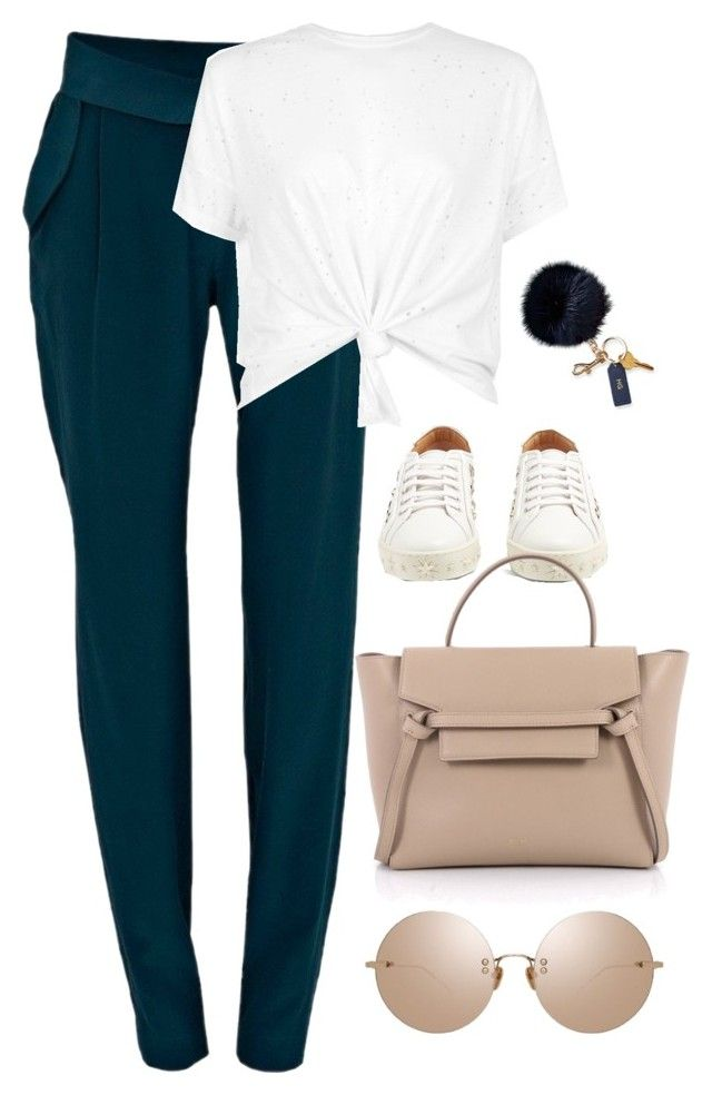 """Untitled #4631"" by magsmccray on Polyvore featuring Negarin, Aquazzura, Linda Farrow and Mark & Graham"