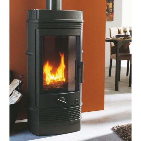 Poêle cheminée en fonte Gomont - INVICTA
