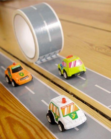 Shake My Blog | Un circuit adhésif pour voitures