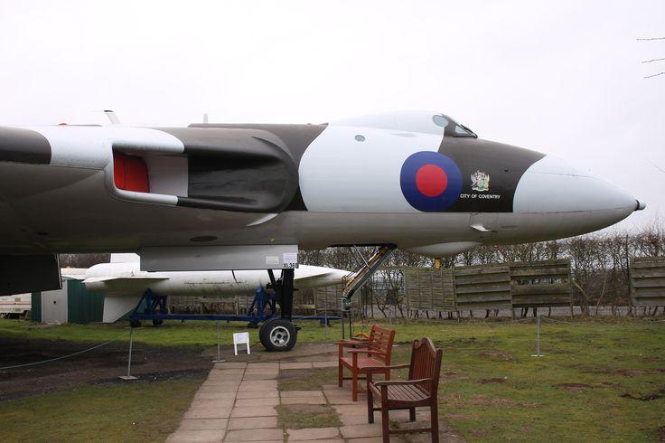 Avro Vulcan B.2 XL360. Midlands Air Museum, March 2015.