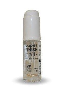 Super Finish Nagelvård - Påskyndar torkning av färg och ger naglar gen fin glans. Utan parabener!