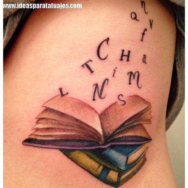 Existen muchos libros que marcan nuestra vida, y esta frase la podemos tornar literalmente al tatuarnos una cita que nos haya gustado y que tomemos como mantra o verdad, y que en ocasiones las pala…