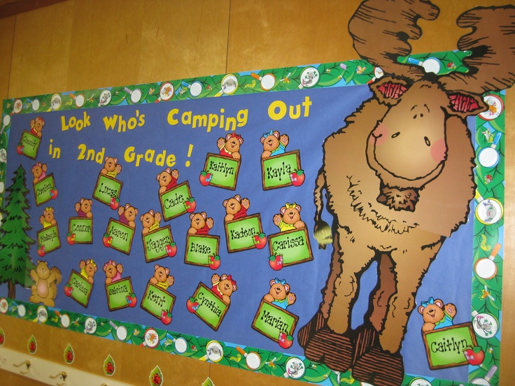 Moose Craft Camping Themed Classroom Classroom Crafts