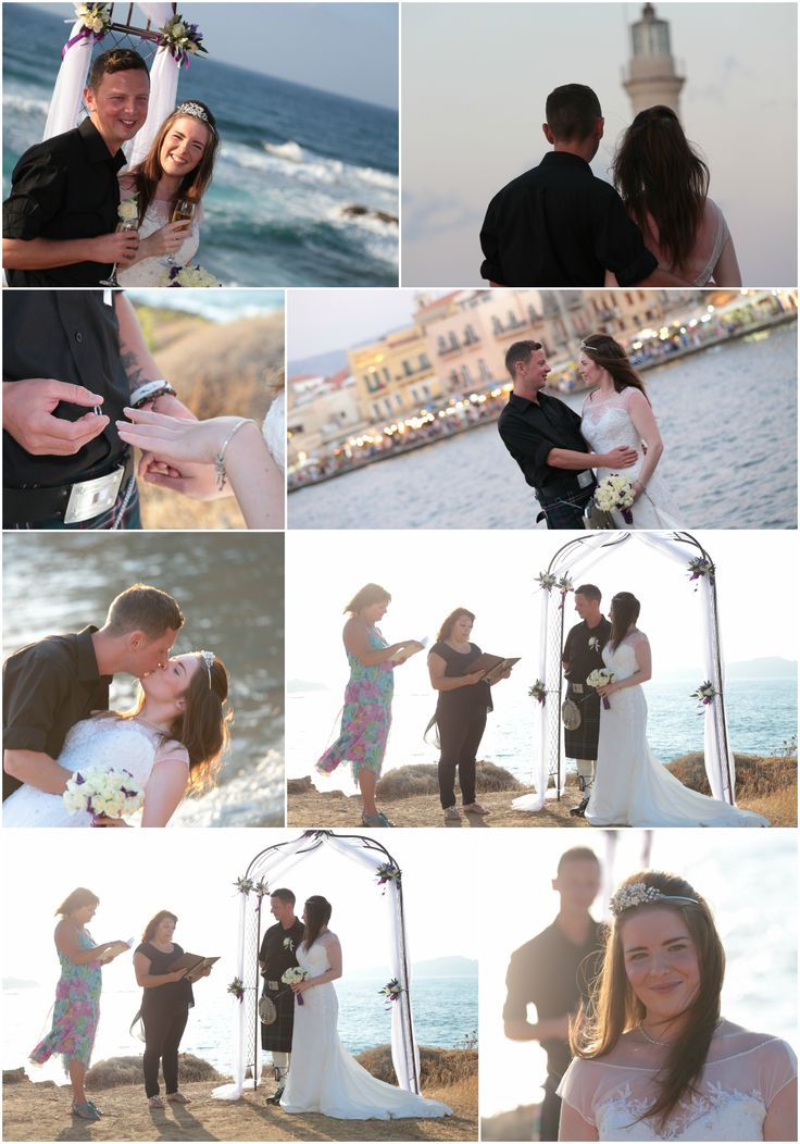 Sneaking off to Crete from Scotland to have an intimate wedding in Chania