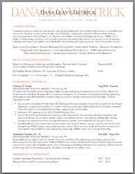 Education Resume   Creative Format | Brooklyn Resume Studio | #resumes  #career · Resume WriterResume Cover LettersResume ...