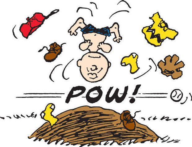 Image result for Charlie Brown pitching
