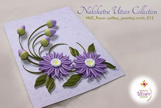 Nakshatra Utsav Collection: NUC_Paper quilling_greeting cards_012