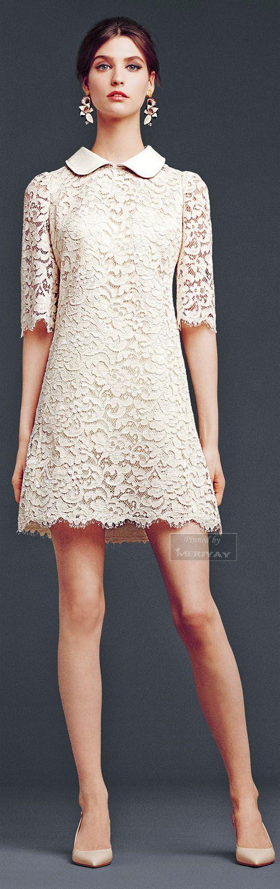 I <3 this dress! Dolce & Gabbana Fall Winter 2014 2015.