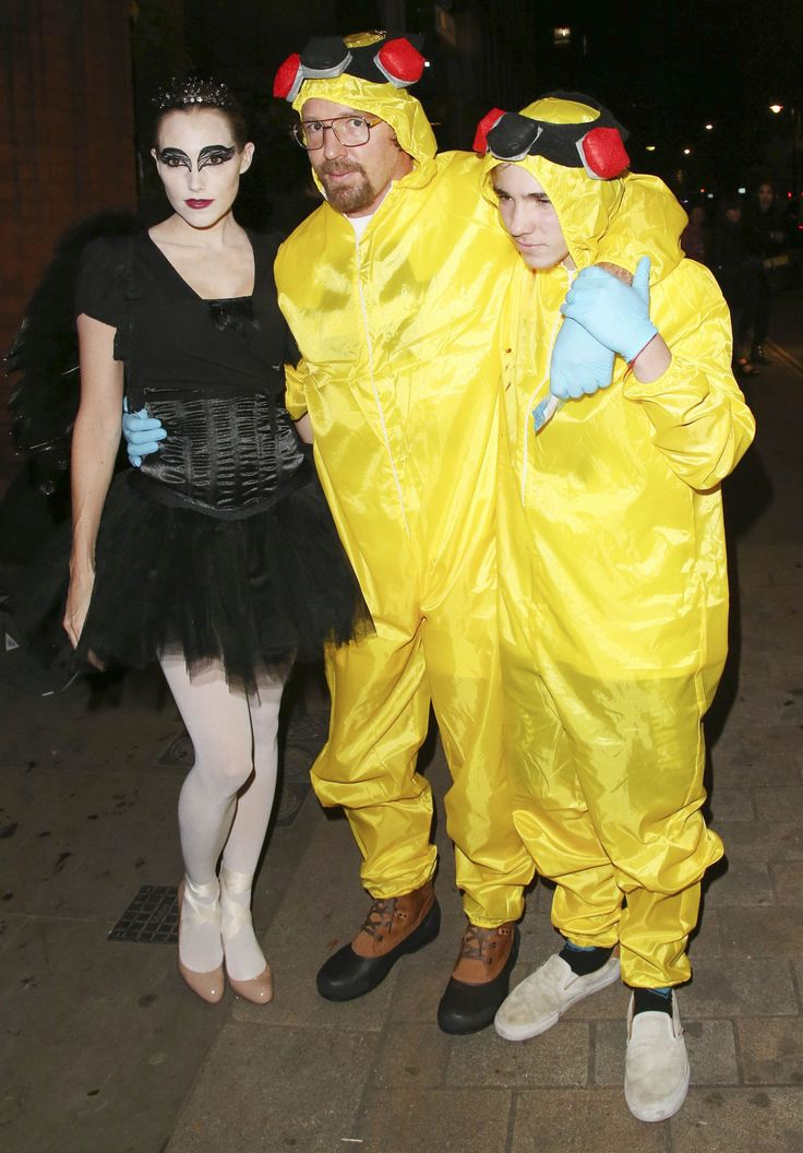 in 2014 guy ritchie and rocco ritchie dressed up characters from breaking bad and jacqui - Halloween Costume Breaking Bad