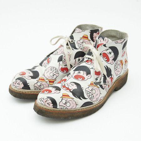 COMME des GARCONS SHIRT おそ松くん Chukka Boots