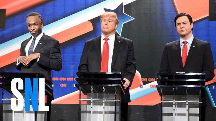 GOP Debate Cold Open - SNL - It's all fun and games until one of these idiots gets elected...