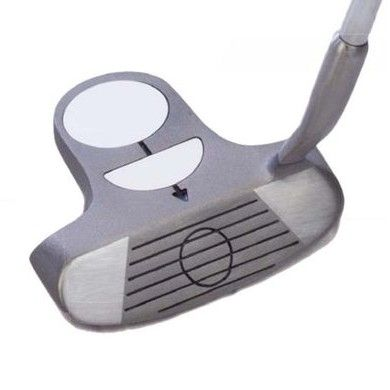 The Longridge putter style golf chipper is constructed from soft alloy to provide feel and control around the green. The one and a half ball alignment system provides instant alignment feedback. This, combined with hollowback technology and a wide sole, can improve almost anybody's short game.  Features Soft feel alloy head One and half ball alignment Offset design Hollowback technology  Check this link for more details about 1.5 Ball Golf Club Chipper from Powerhouse Golf Co Uk