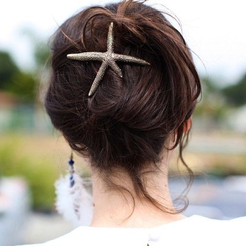 Starfish Hair Clip | Spotted on leblogdebetty