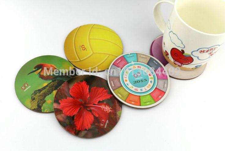 Добро пожаловать заказ смешивания круглой формы деревянные пробки подставки под чашки чая 20 моделей для свободно вариант онлайн купить 15 шт. бесплатная доставка