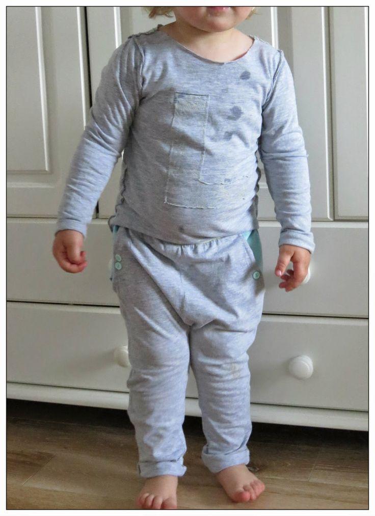 sewing kids baby jersey szcie dla dzieci dzianina pumpy bluzka