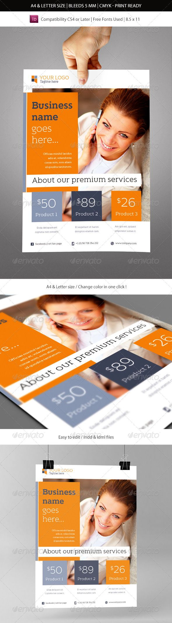 Top 25 ideas about print templates on pinterest fonts for Free indesign brochure templates cs5