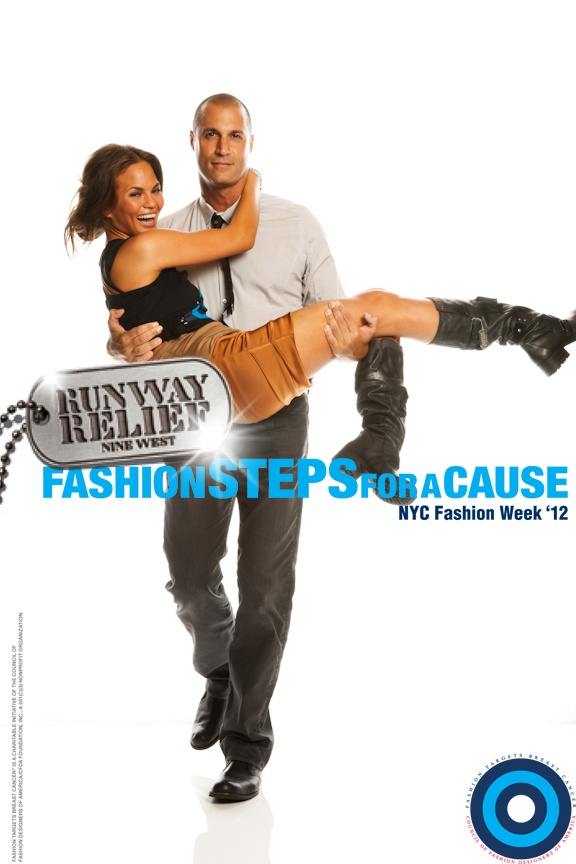 Nigel Barker, Nine West Runway Relief Chrissy Teigen