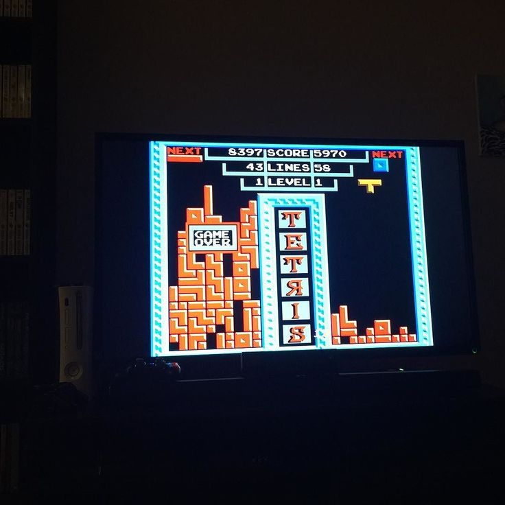 """On instagram by wattswc_vg #retrogaming #microhobbit (o) http://ift.tt/1JQgTYj some Tengen Tetris with the Mrs. Tonight. This is the original """"rare"""" game. Back on the playground kids would talk about how this was pulled off the shelves and it was rare and hard to come by. I personally like this version better than the NES one the 2 player play is great! Also I'm pretty bad. 43 lines wtf. #retrocollector #retrocollectivecanada #retrocollective  #nes #nintendo"""