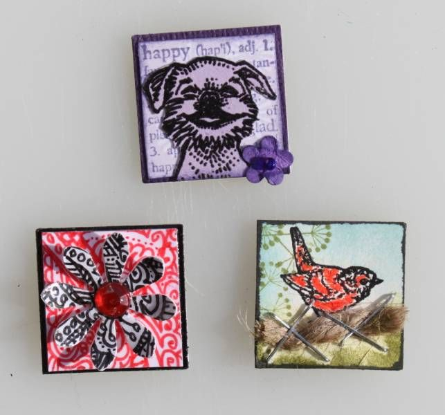 Inchies - Animal, Zentangle, Junk Drawer by Suji - Cards and Paper Crafts at Splitcoaststampers