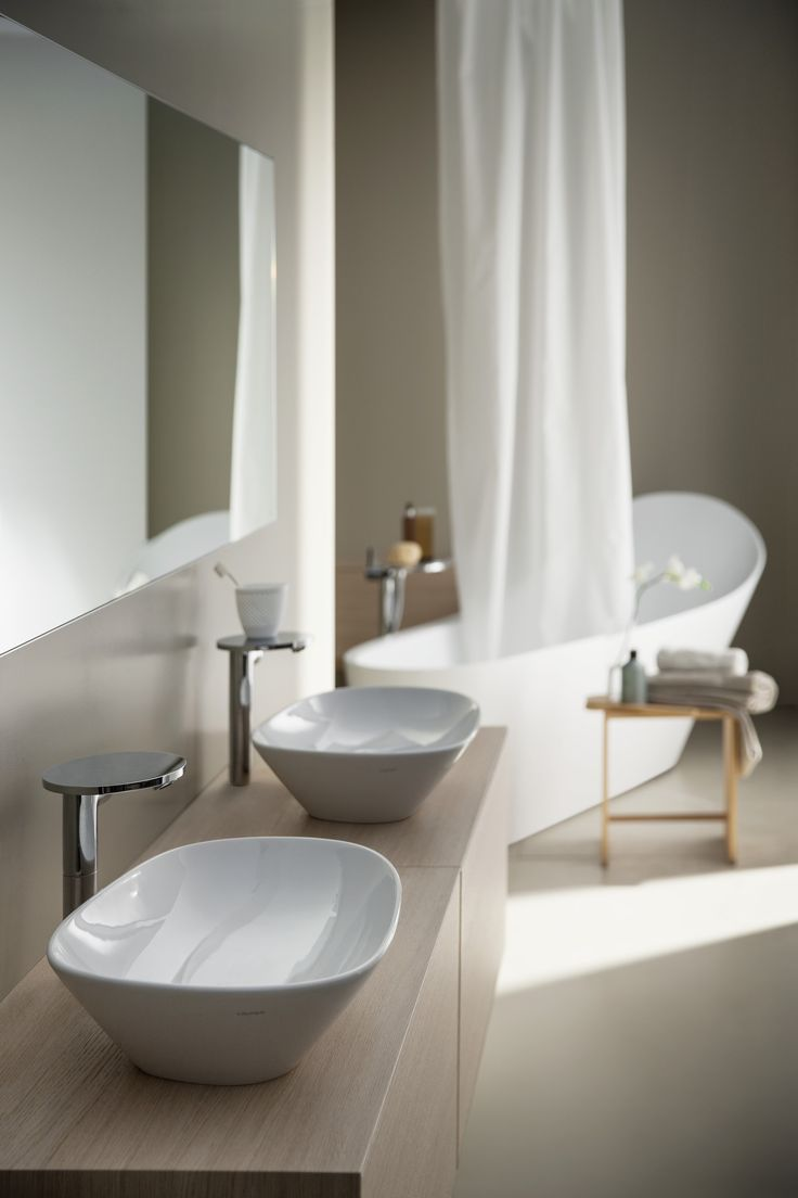 Recreate the spa feel in your own home with @LaufenBathrooms.