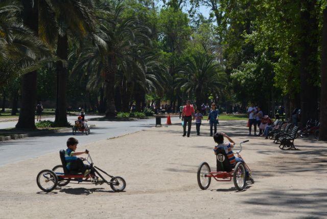 El Parque Quinta Norma, tiene espacios enormes para jugar