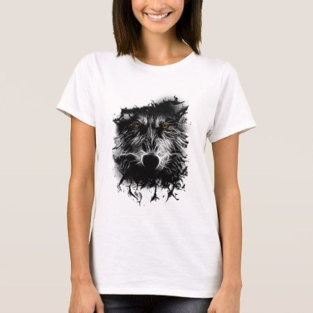 Dark Wolf T-Shirt - tap to personalize and get yours
