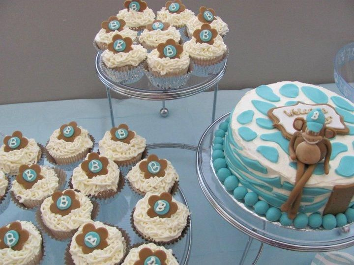 178 best images about baby shower on pinterest underwater baby shower themes and baby showers - Monkey baby shower cakes for boys ...