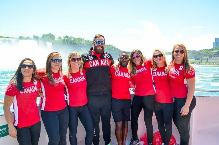 CANADIAN OLYMPIC WRESTLING TEAM UNVEILS 8 ATHLETES FOR THE 2016 RIO OLYMPICS AT HORNBLOWER NIAGARA CRUISES