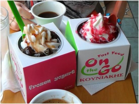 Frozen Yogurt on the Go