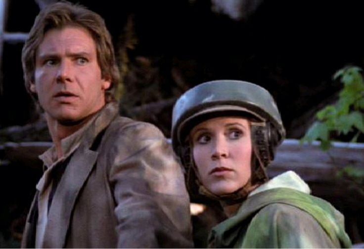 Carrie Fisher - Princess Leia - Star Wars - Return of the Jedi
