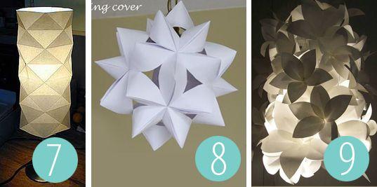 1000 bilder zu basteln auf pinterest origami lampe for How to make paper lamp step by step