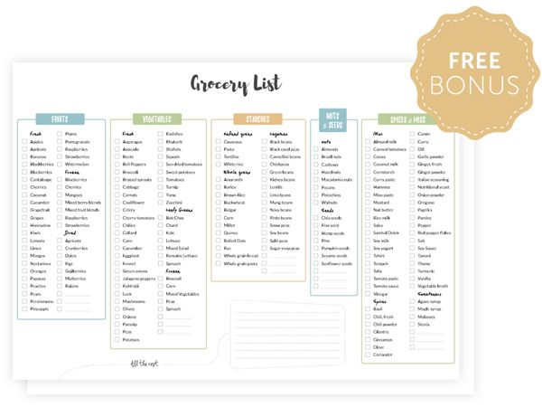 Best 25+ Vegan grocery lists ideas only on Pinterest Vegan food - example grocery list
