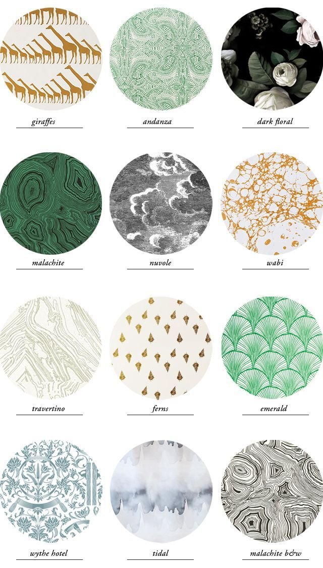 wallpaper round-up // smitten studio love all of these