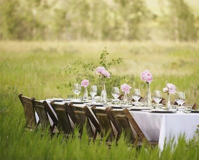 Summer Afternoon: Farms Wedding, Al Fresco Dining, Outdoor Tables Sets, Picnics, Parties Outside, Dinners Parties, Gardens Parties, Long Tables, Fields