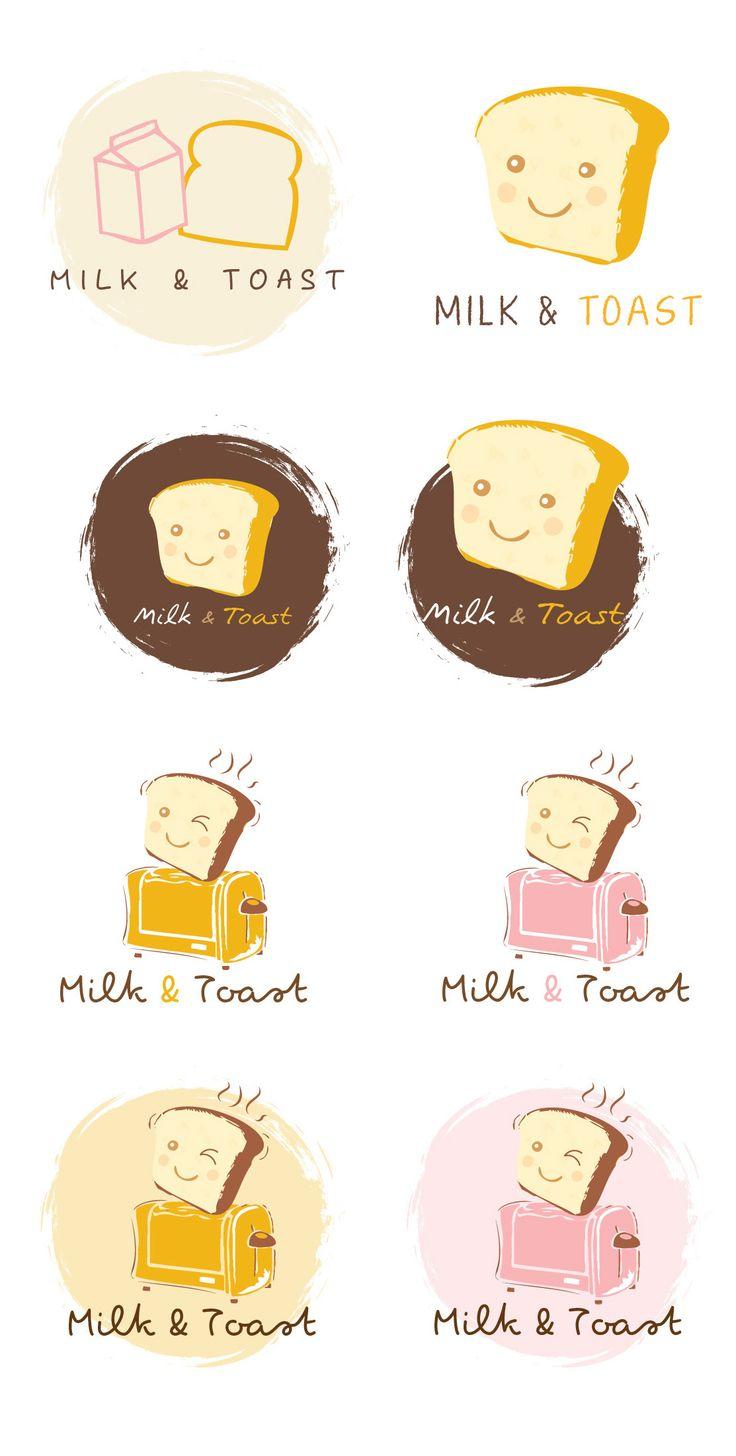 Milk & Toast  logo