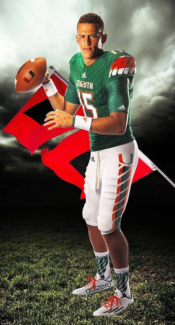 Brad Kaaya of the Miami Hurricanes leading the winds of change.