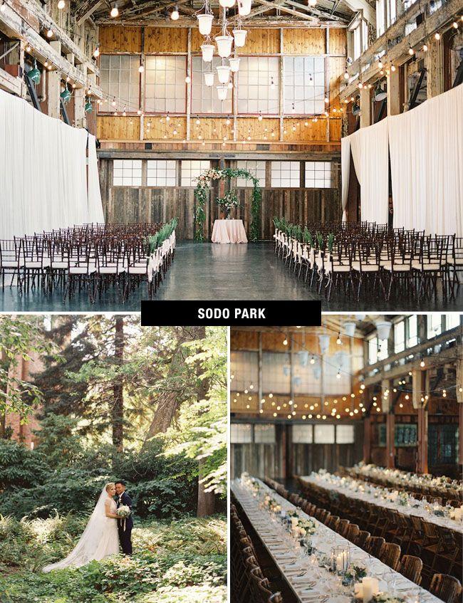 Sodo Park Wedding Venue in Seattle