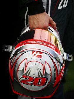 Casco de Kevin Magnussen, Haas F1 Team  2017/03/21 para 2017/03/25  Albert Park Circuit