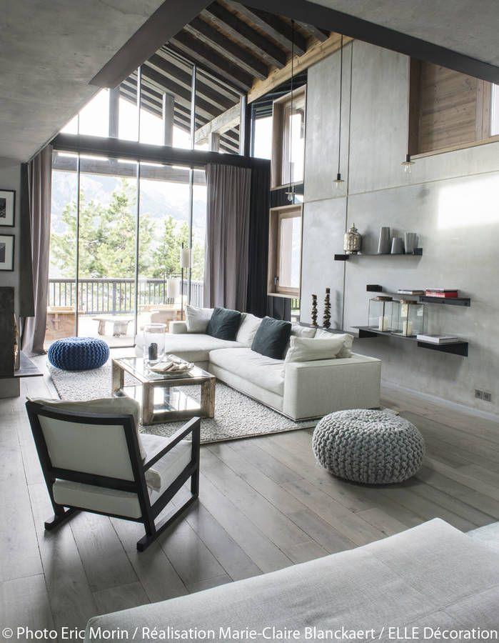 25 best ideas about deco salon contemporain on pinterest. Black Bedroom Furniture Sets. Home Design Ideas