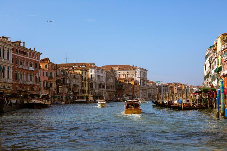 Venice beautiful city town morning water trip amazing happy