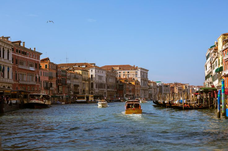 Venice beautiful city town morning water trip amazing happy